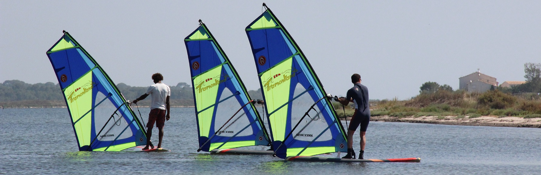 Einzelkurse und Gruppenkurse Tramontana Windsurf ab 7 Jahre