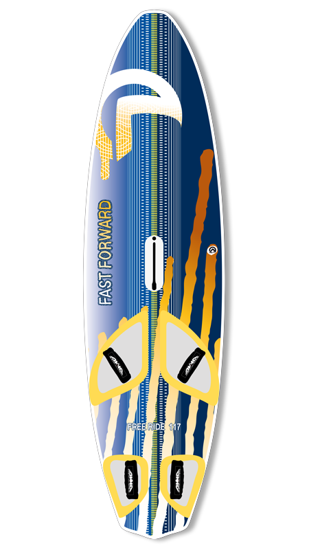 Fast Forward : la planche de freeride par AHD boards.