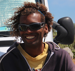 L'équipe de Tramontana Windsurf : Thierry