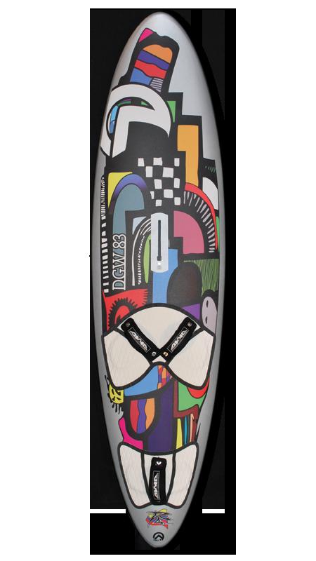DGW pro models : la planche de vague par AHD boards.