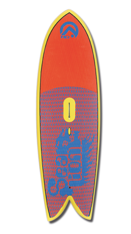 Sealion pro : Le windSUP radical par AHD boards.