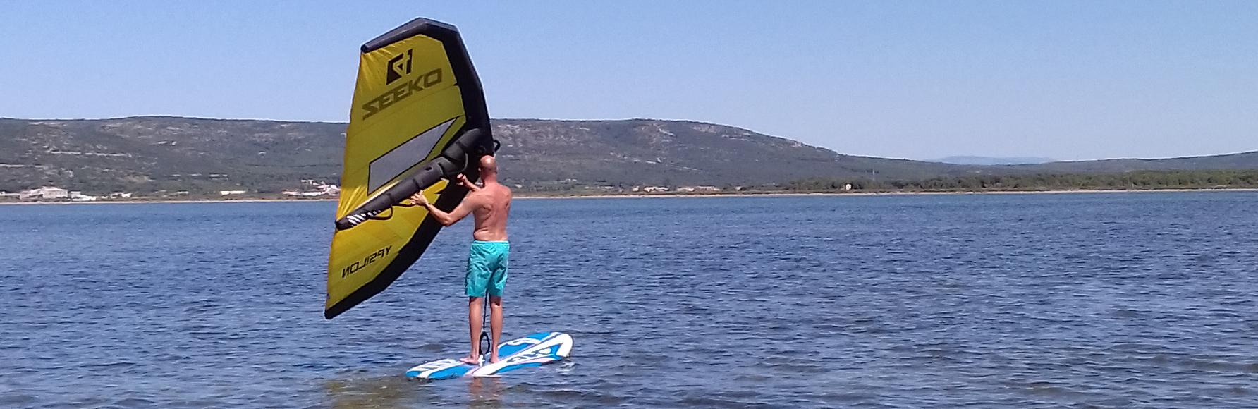 Le Wing-Surf débarque chez Tramontana !!